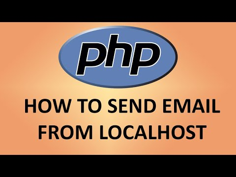 Send Email From Localhost And PHP