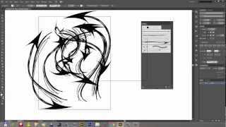 Creating Custom Arrow and Art Brushes in Adobe Illustrator CS6