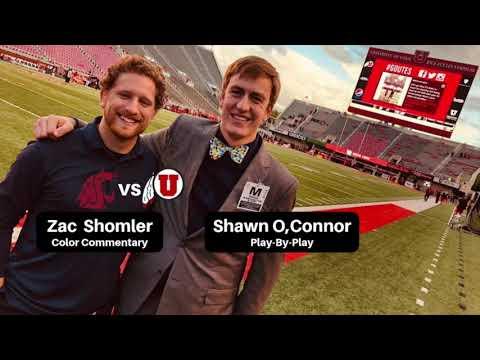 Zac Shomler & Shawn O'Connor Radio Broadcast WSU @ Utah (9-28-19)