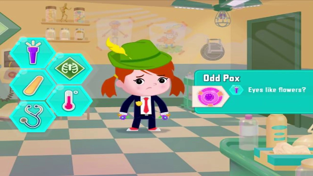 Agent Check Up Odd Squad Game Pbs Kids