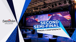 Eurovision Song Contest 2021 - Second Semi-Final - Press Conference