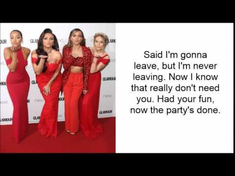 The End - Little Mix LYRICS