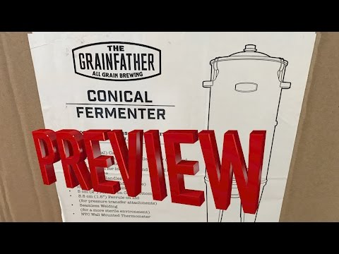 THE NEW GRAINFATHER CONICAL FERMENTATION SYSTEM PREVIEW 4K HD