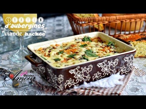 gratin-d'aubergines-à-la-viande-hachée,-cuisine-algérienne-ramadan-2017