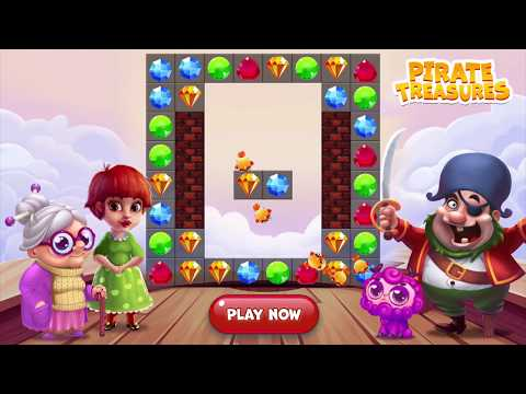 Pirate Treasures - Gems Puzzle - Apps on Google Play