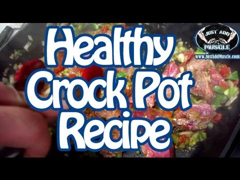 Simple to make healthy Beef CrockPot Recipe