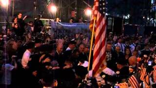Bag Pipes 9/11 ceremony- Auld Lang Syne