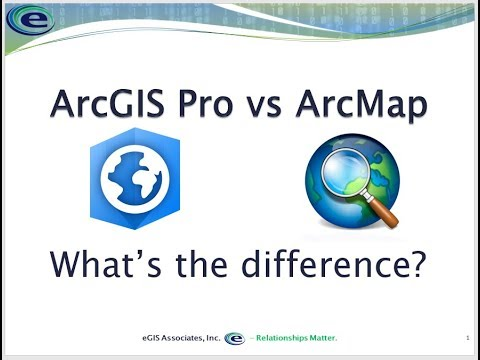 ArcMap vs ArcGIS Pro - Comparing these two GIS applications from Esri