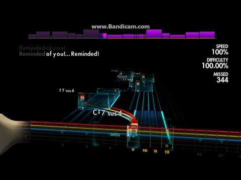 Rocksmith2014 - Drowning pool - Reminded (new cldc)