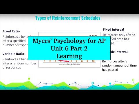 Unit 6 Myers' Psychology for AP - Part 2
