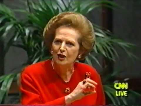 "Margaret Thatcher highlights with George Bush & Michail Gorbachev ""State Of The World Forum"" 1995"