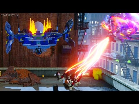 LEGO Dimensions 🎮 Ghostbusters HQ attacked by General Zod!