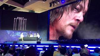 Death Stranding E3 PlayStation Live With Hideo Kojima! - E3 2018