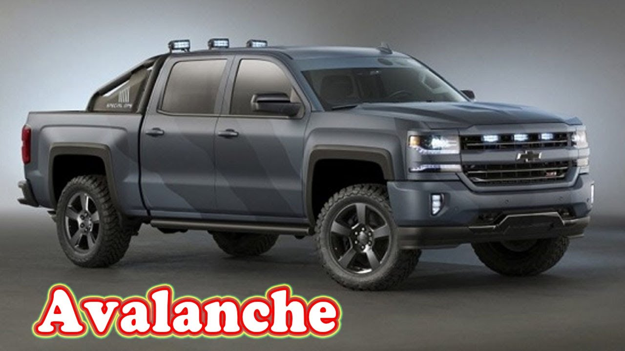2021 Chevy Avalanche Release