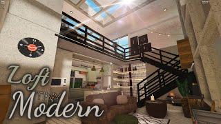 Modern Tiny Loft | House Build | Bloxburg Roblox
