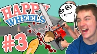 DEATH TO EVERYONE! | Happy Wheels #3