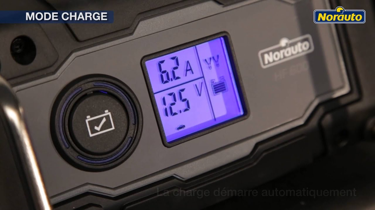 chargeur batterie norauto hf600 youtube