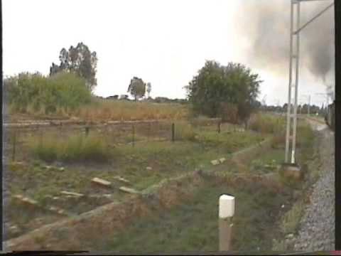 """Trans-Karoo"" - Express Klerksdorp - Krugersdorp  Mitfahrt   10-1996"