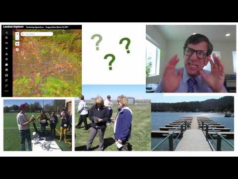 Connecting GIS with Earth Day, Environmental Education, and Environmental Science Part 1