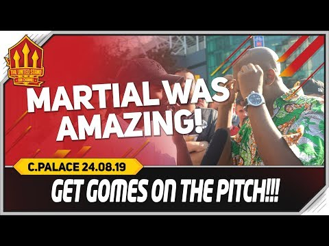 ANGEL GOMES IN! Manchester United 1-2 Crystal Palace Fancams