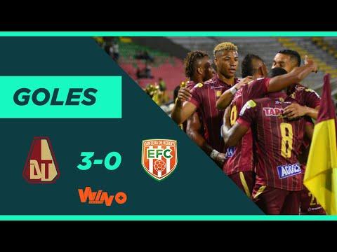 Tolima vs. Envigado (3-0)   Liga BetPlay Dimayor 2020-I   Fecha 4