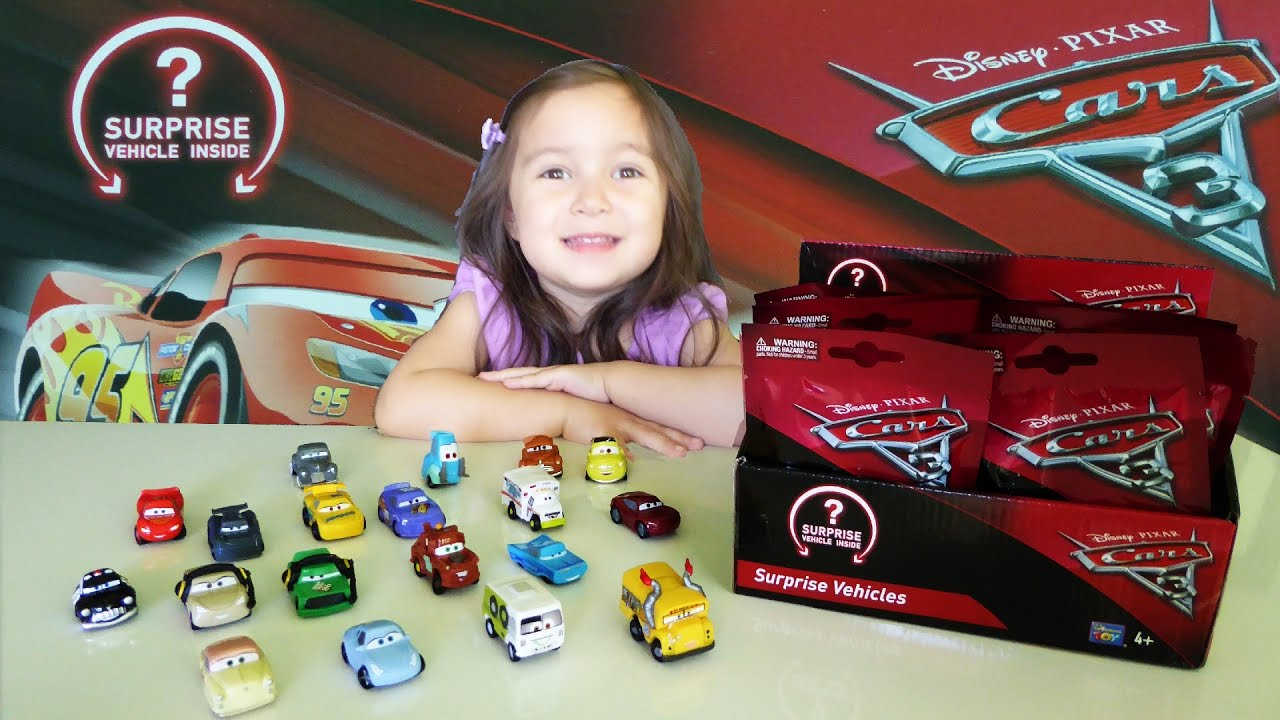 Disney Cars 3 Movie New Characters Revealed Blind Bags