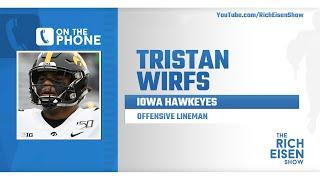 Iowa OL Tristan Wirfs Talks NFL Draft Prep & More with Rich Eisen | Full Interview | 4/3/20