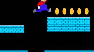 Super Mario Flash Animation Level 1-2 (Fan made)