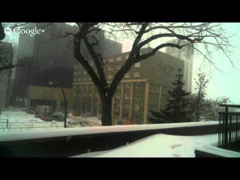 Super Blizzard Hits Regina #LIVESTREAM