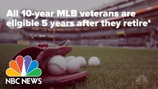 How Do Baseball Players Get To Hall of Fame? | NBC News