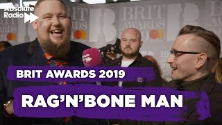 "Baixar Rag'n'Bone Man BRITs 2019 - ""Calvin doesn't have to do promo"""