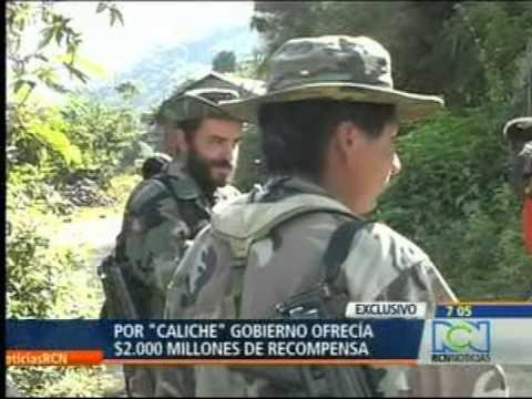 "MUERE EL TERROR DEL CAUCA ALIAS ""CALICHE"""
