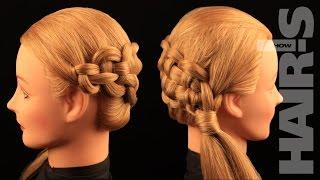 Заплетаем косу «Молния» своими руками - видеоурок (мастер-класс) Hair's How