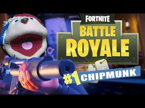 FIRST CHIPMUNK *EVER* TO WIN FORTNITE BR | Fortnite: Battle Royale!