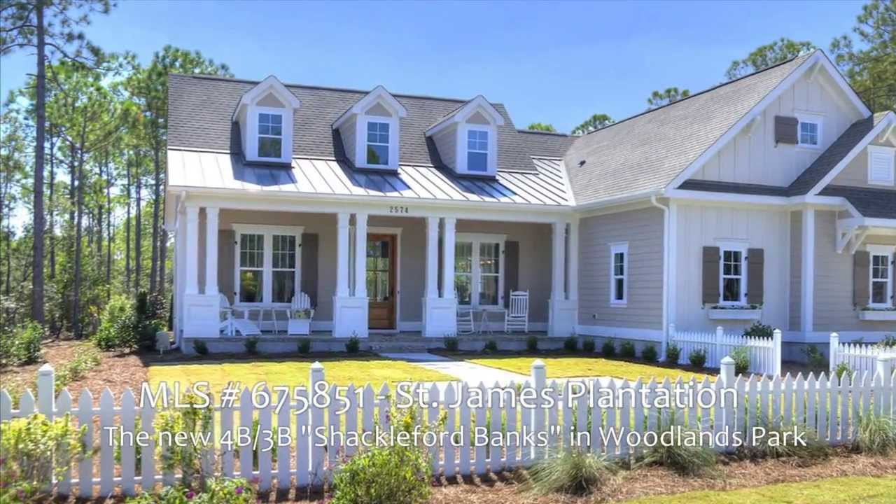 Sold hagood homes 39 shackleford banks model home in st for St james plantation builders