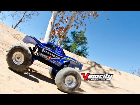 Rc Adventures Huge Muddy 4x4 Off Road Gas Truck Losi 5ive T 2nd  World Champs Paul & Cody King Nitro Tuning Tips~ Velocity RC Magazine