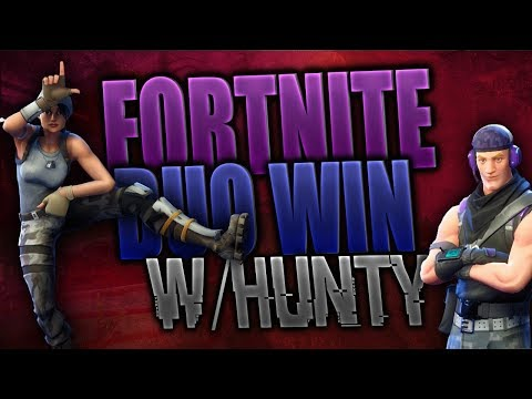 FORTNITE (BATTLE ROYALE) - Duo's w/HUNTY : A Terrible Win...