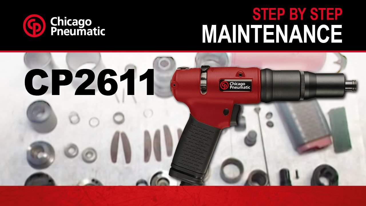 CP Air Tools Maintenance Demo & Tips - Chicago Pneumatic