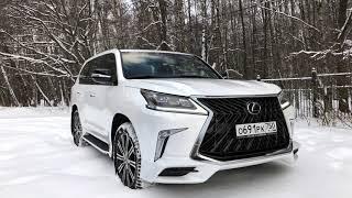 видео Новый Lexus LX