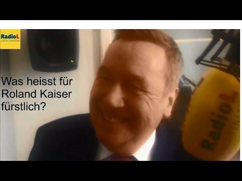 """Roland Kaiser im Radio Liechtenstein """"Ländle Obet"""""""