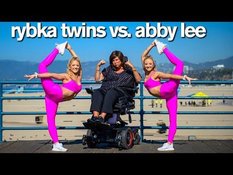 Dance Moms ABBY LEE VS RYBKA TWINS Insane Acro Photo Challenge