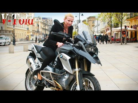 BMW R 1200 GS design & exhaust sound