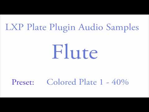 LXP Plate Plugin Flute Samples.mov