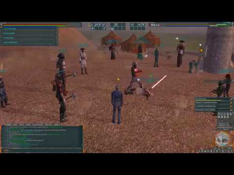 SWG Infinity – Jedi Vs Melee Bounty Hunter