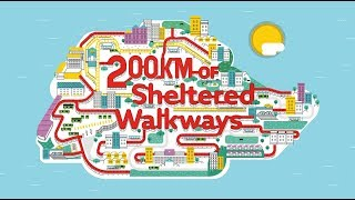 Completion of 200km of Sheltered Walkways thumbnail