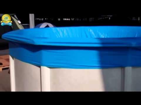 Yapool pool set doughboy diana rund aufbau und montage for Grabner pool