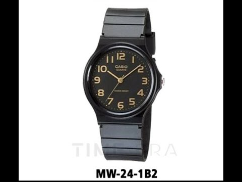 UNBOXING Jam Tangan Casio MQ-24-1B Original - YouTube bc09b18619