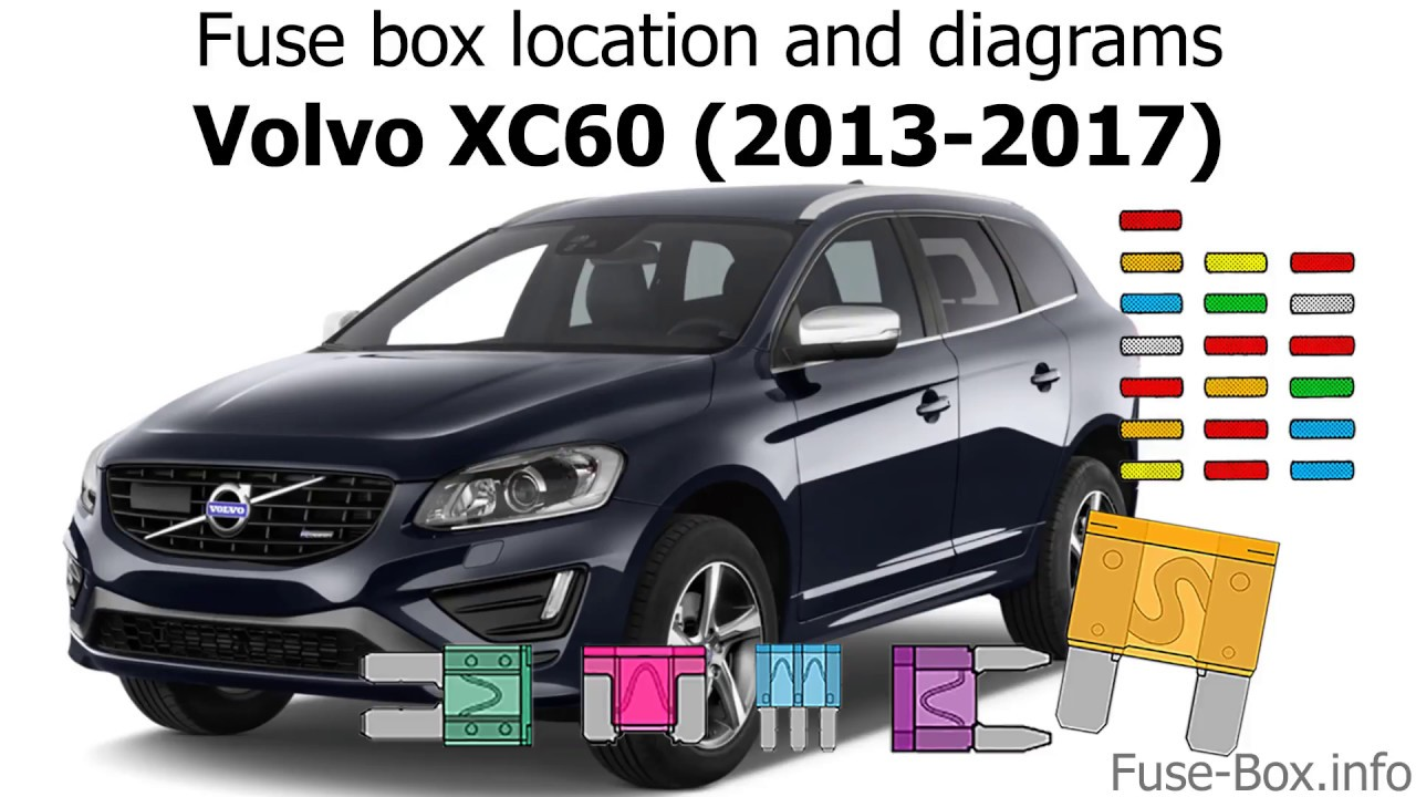 fuse box location and diagrams volvo xc60 2013 2017. Black Bedroom Furniture Sets. Home Design Ideas