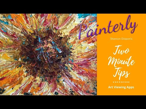 Painterly 2-Minute Tip: Showcasing Your Art