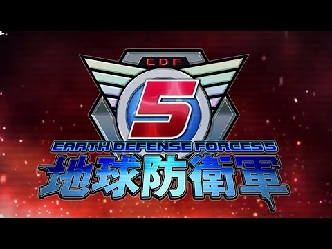 Earth Defense Force 5 - Official Third Trailer